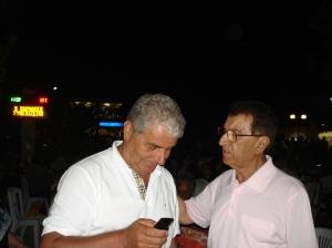 Εδώ με τον Αλέκο Λιακόπουλο, Αντιδήμαρχο Δήμου Δάφνης Αττικής, ένα συμπατριώτη μας που τιμά τον τόπο καταγωγής του