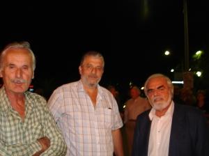 Ο εξάδελφός μου Γιάννης Αναγνωστόπουλος, ο θείος μου Τάκης Ηλιόπουλος και ο Χρήστος Μαλαπάνης.