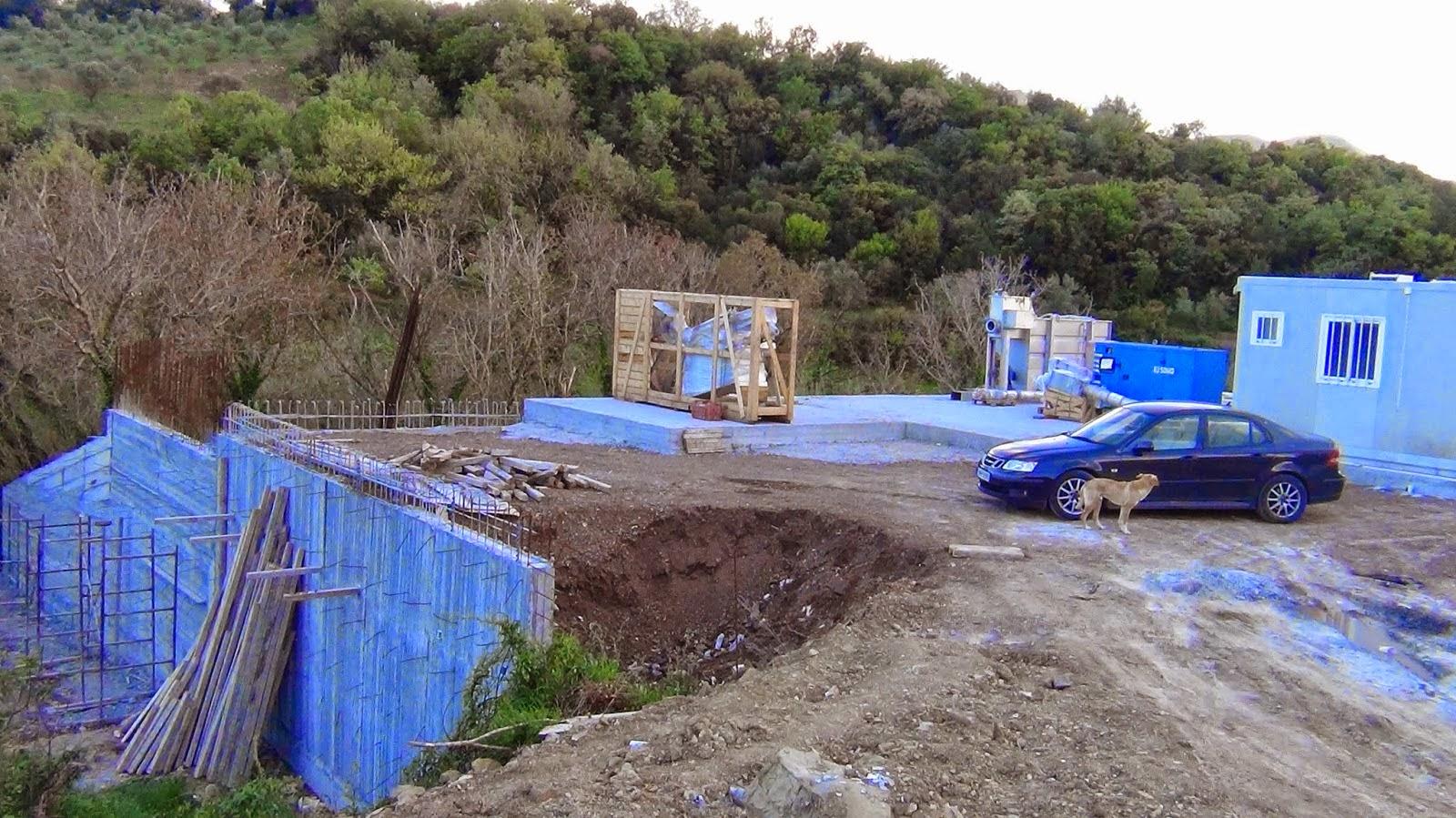 Αποτέλεσμα εικόνας για Κεντρικής μονάδας επεξεργασίας λυμάτων στην Τ.Κ Κοπανακίου